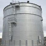 Steel Core Galvanized Water Storage Tank - 2 Stfnrs - J Rib 30 Degree Roof-660