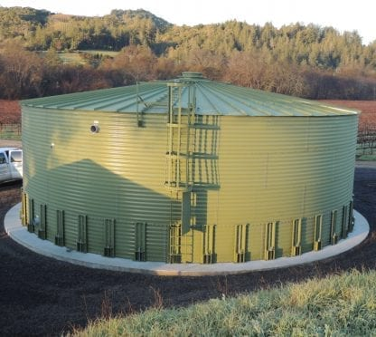 13663 Gallons Galvanized Water Storage Tank