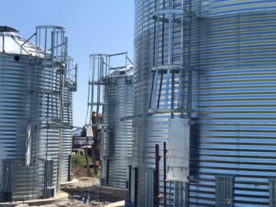 372969 Gallons Galvanized Water Storage Tank